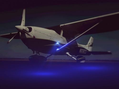 Cessna-ground-illumination