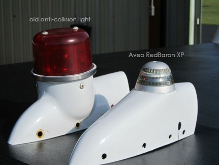 LEFT-Old-anticollision-light---RIGHT-RedBaron-Galactica-
