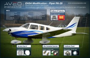 Piper PA-28 lights replacement