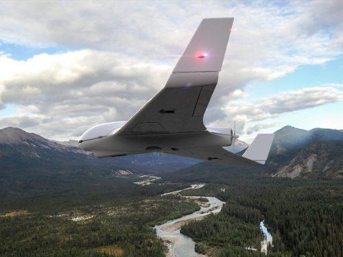 DroneV - smallest wing position strobe light